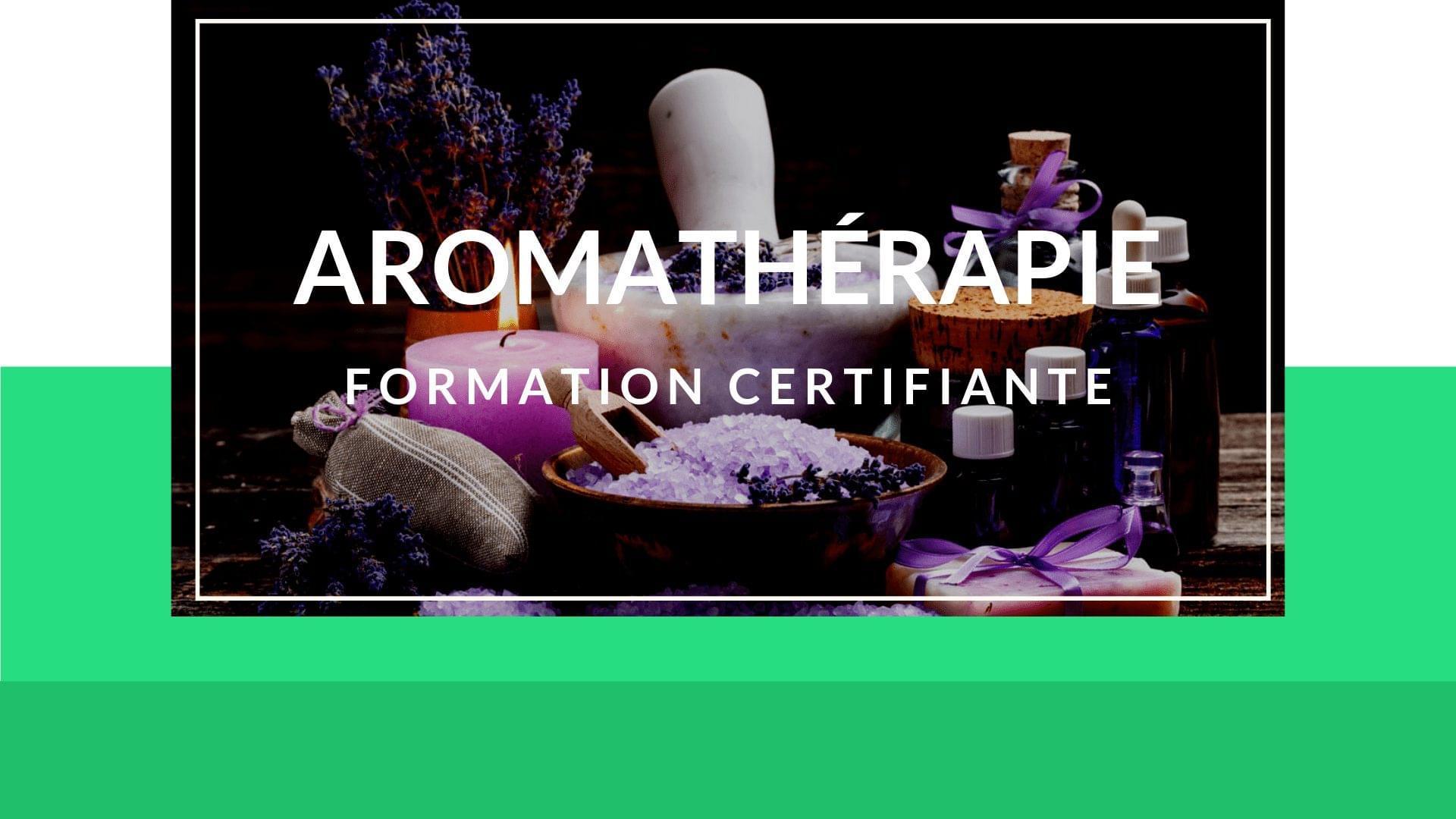 comment me former en aromathérapie
