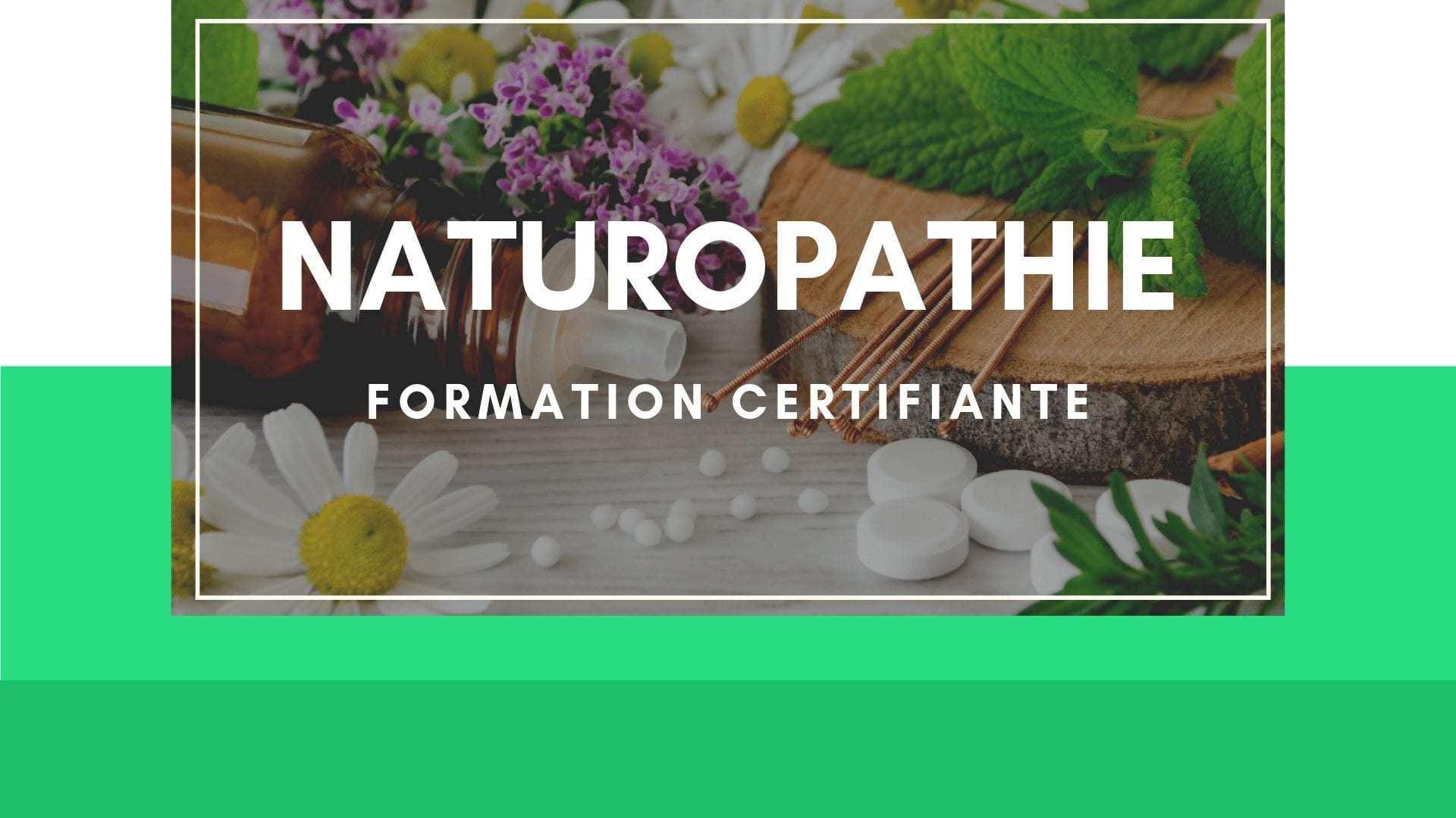se former en naturopathie