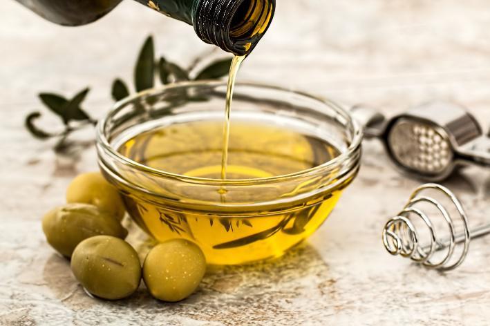 cuisiner avec de l'huile naturelle